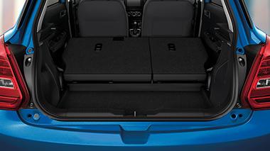 New Suzuki Swift Luggage Space