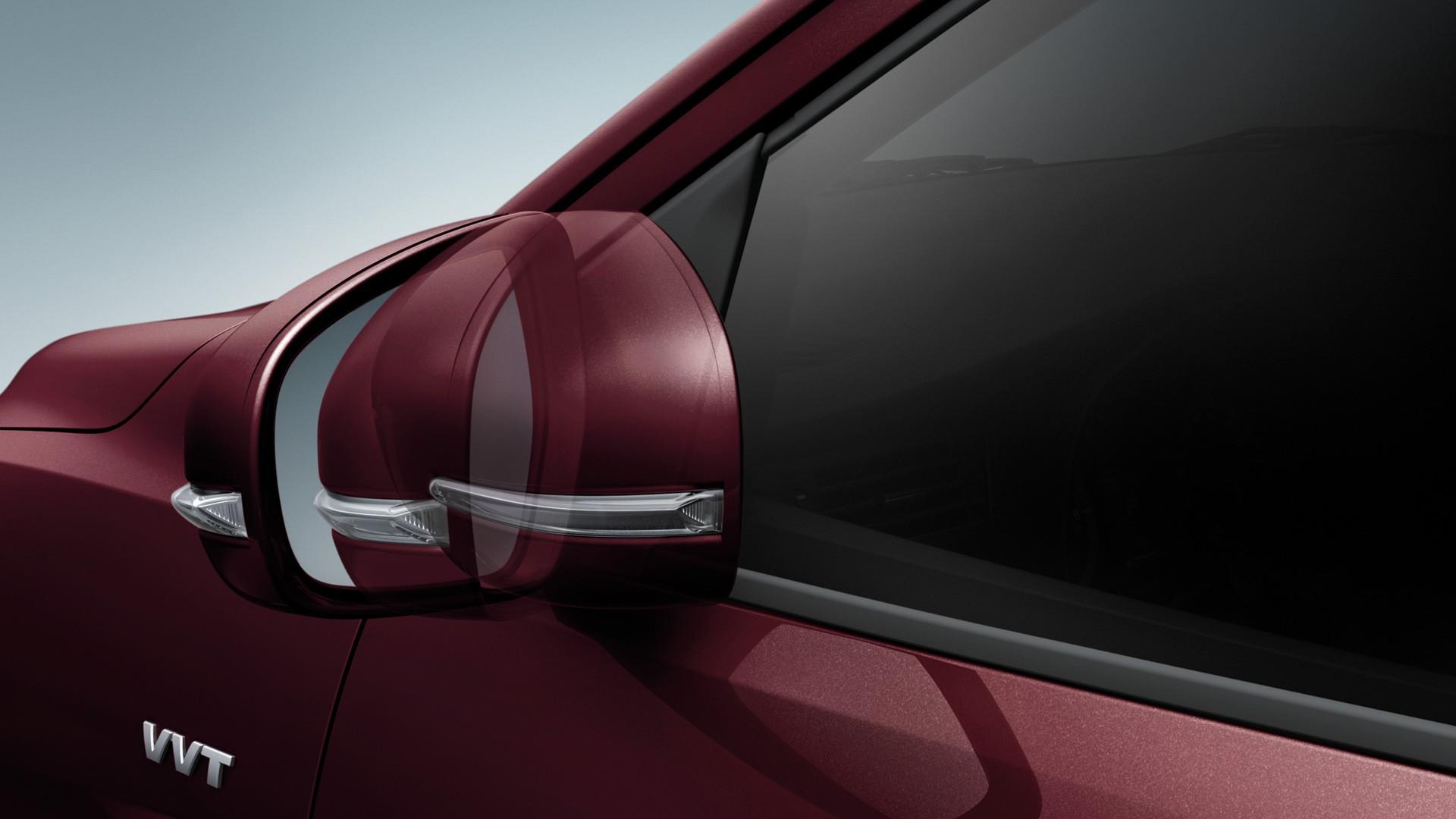 Suzuki ERTIGA กระจกมองข้างปรับและพับด้วยระบบไฟฟ้า
