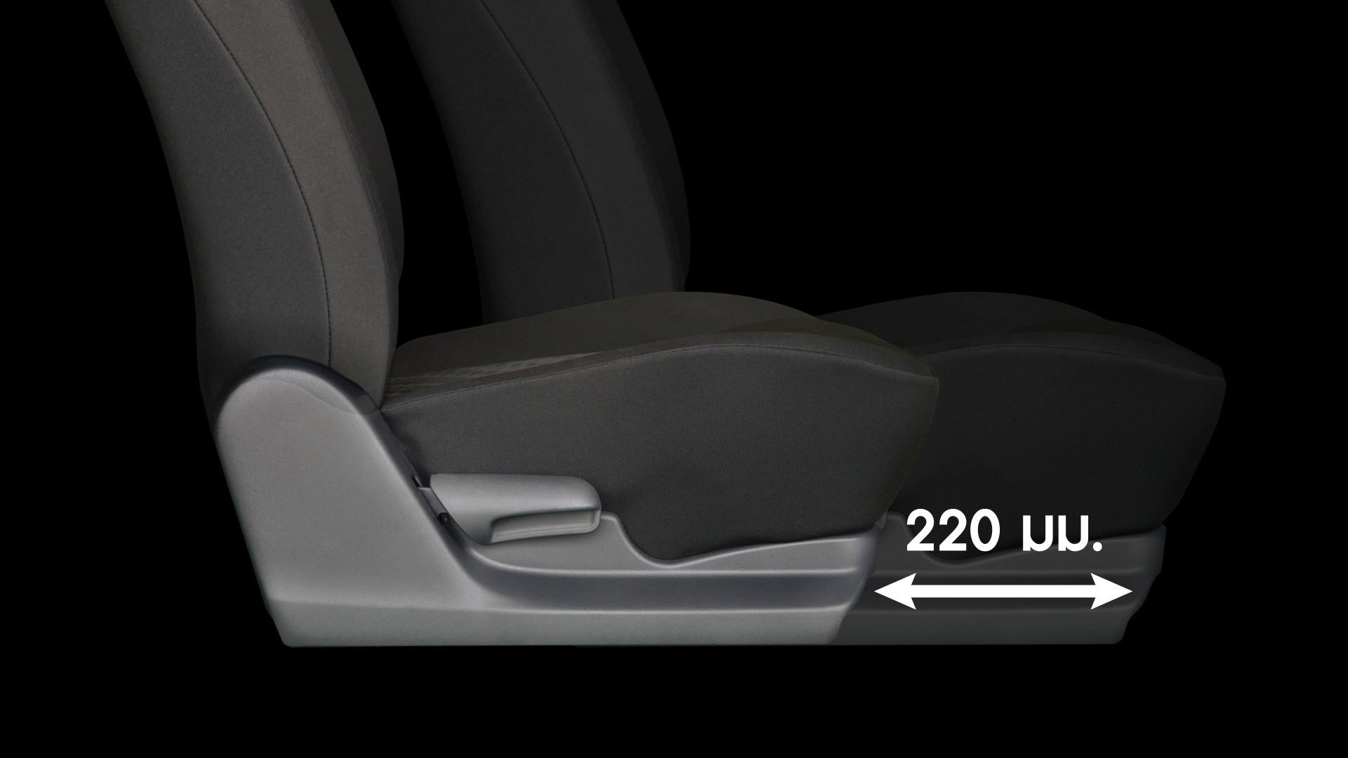 Suzuki CELERIO เบาะนั่งของผู้ขับขี่