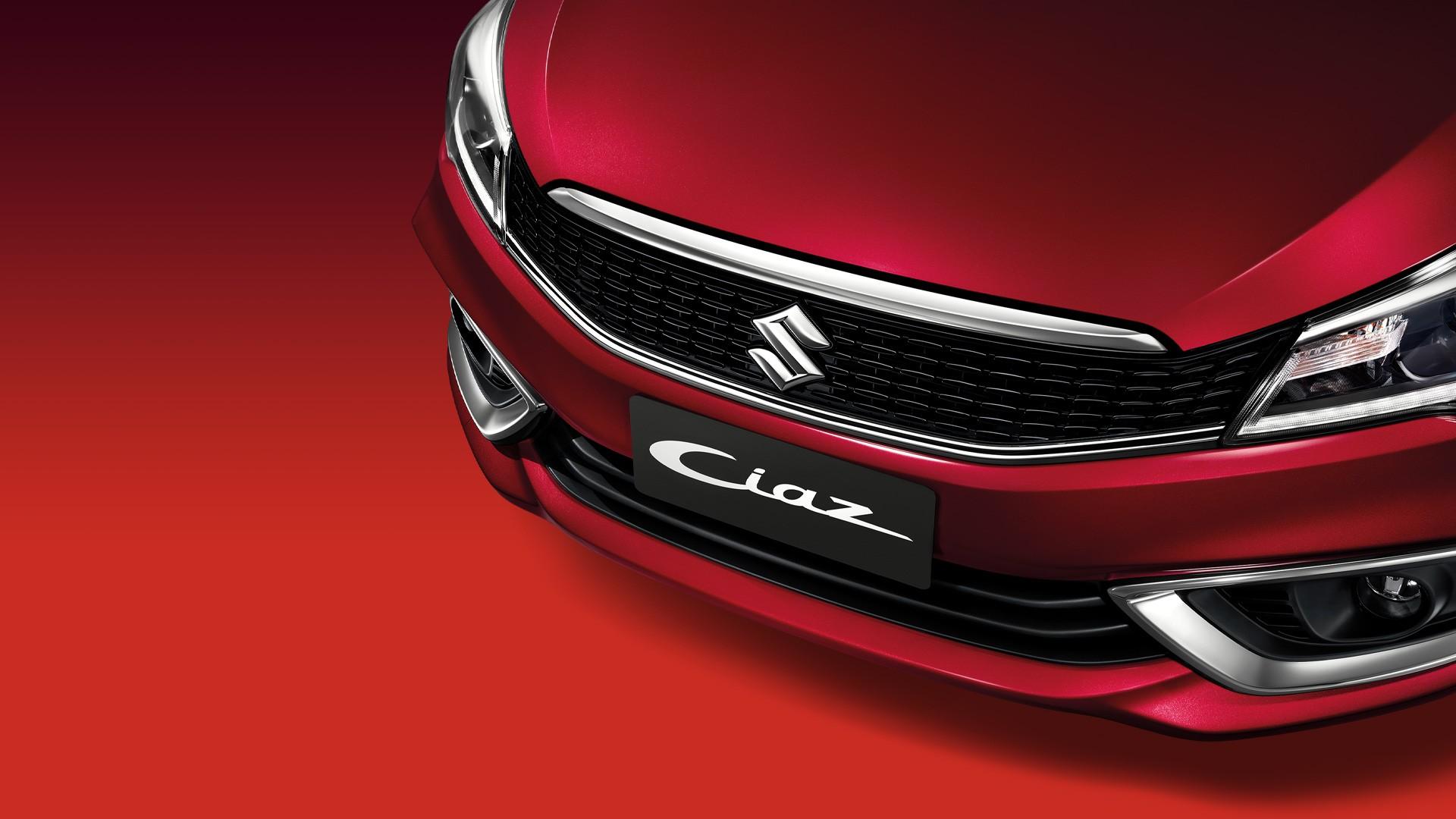 Suzuki Ciaz กระจังหน้าใหม่สไตล์สปอร์ตดุดัน