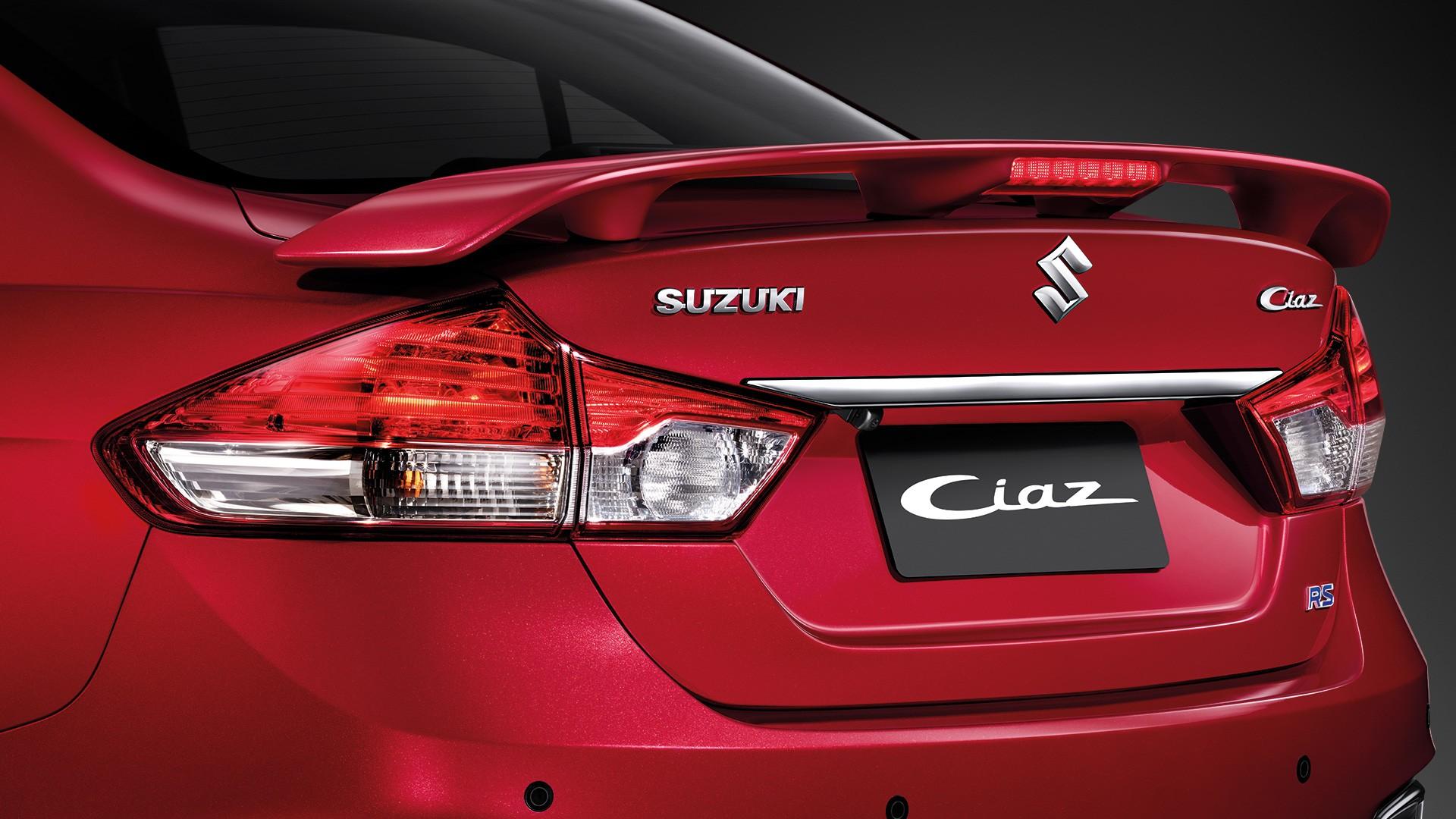 Suzuki Ciaz ชุดแต่งสไตล์สปอร์ตพร้อมสปอยเลอร์หลังไดนามิก