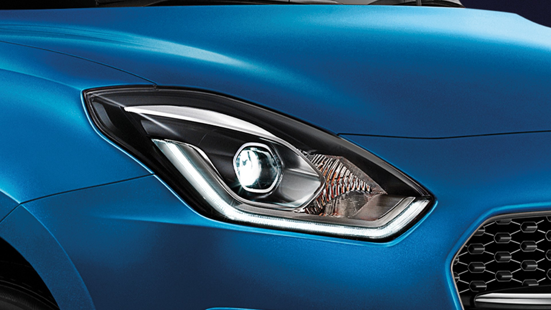 New Suzuki Swift ไฟหน้า LED โปรเจคเตอร์ พร้อม Daytime Running Light
