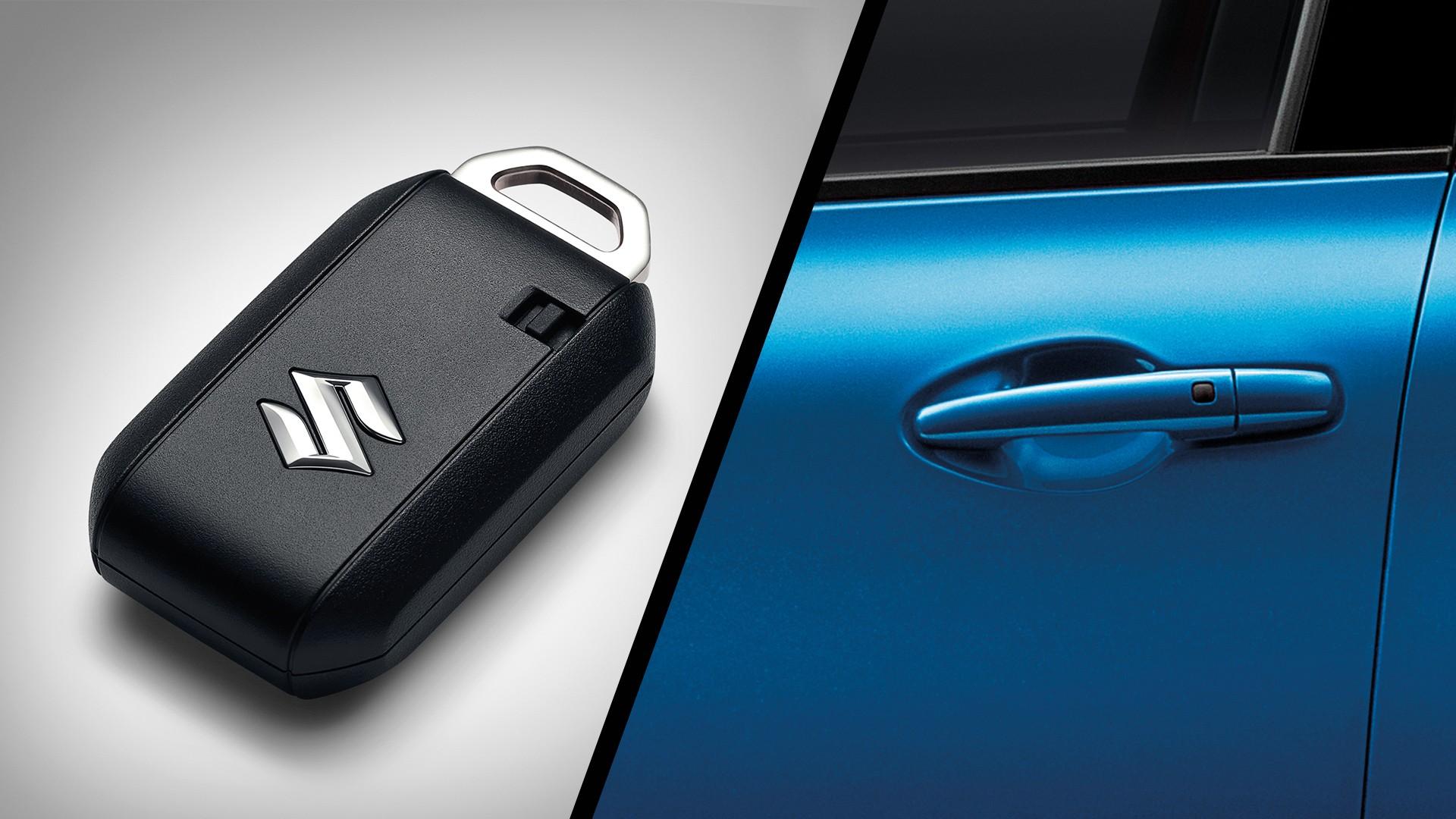 New Suzuki Swift Keyless Entry