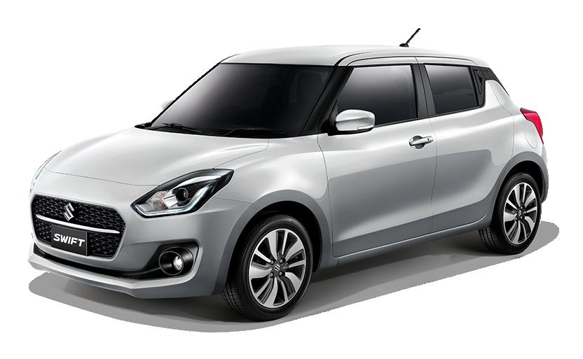 New Suzuki Swift Star Silver Metallic (ZTS)