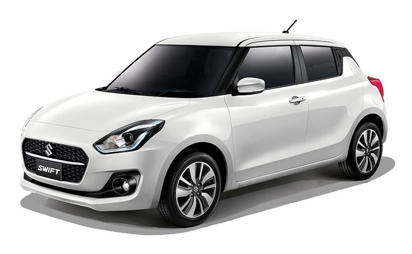 New Suzuki Swift Pure White Pearl (ZYG)