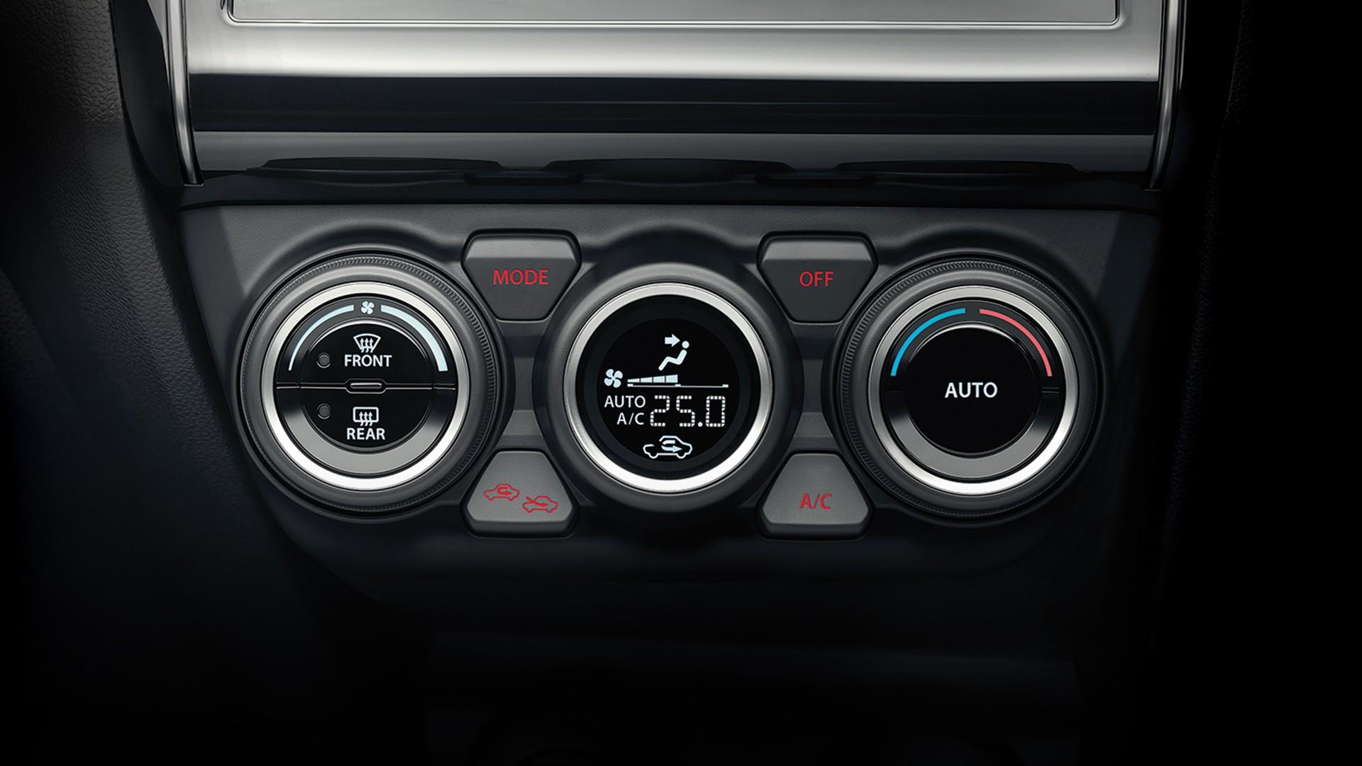 New Suzuki Swift ระบบปรับอากาศอัตโนมัติ