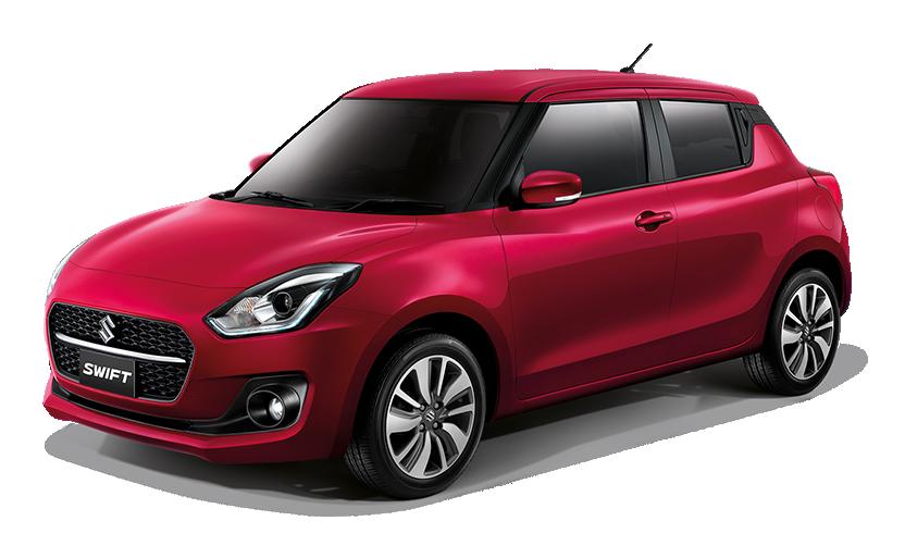 New Suzuki Swift Ablaze Red Pearl (ZTW)
